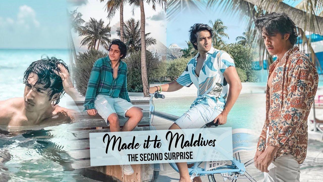 MALDIVES VLOG ?  THE SECOND SURPRISE   ft. Ashi Khanna