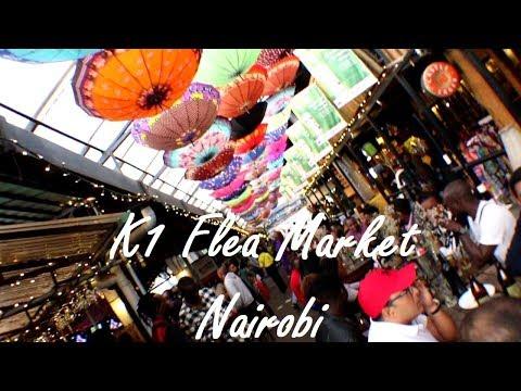 K1 Flea Market Nairobi Kenya | VLOG #222