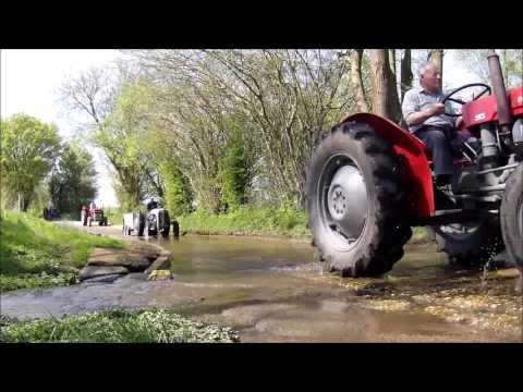 Stebbing Vintage Tractor Run 2016