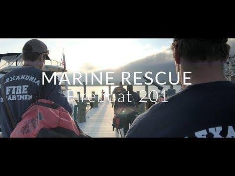 Alexandria Fire Marine Rescue: Fireboat 201