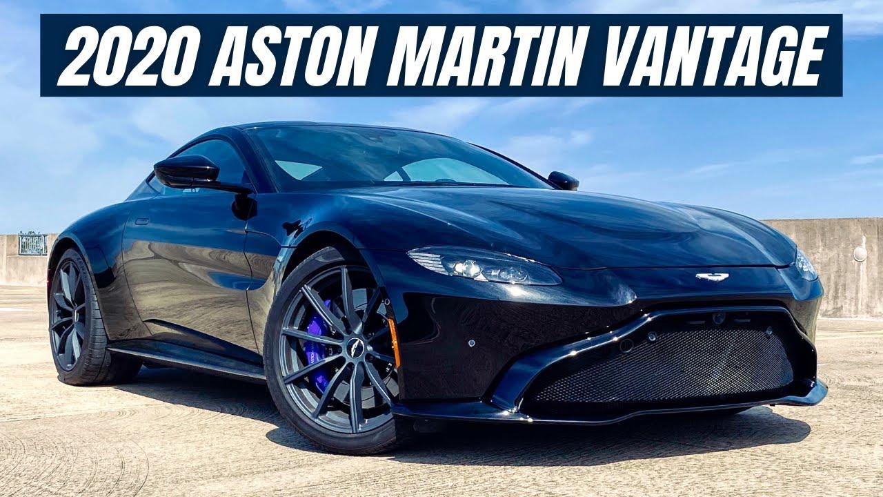 2020 Aston Martin Vantage Review A 186 000 True Sports Car Youtube