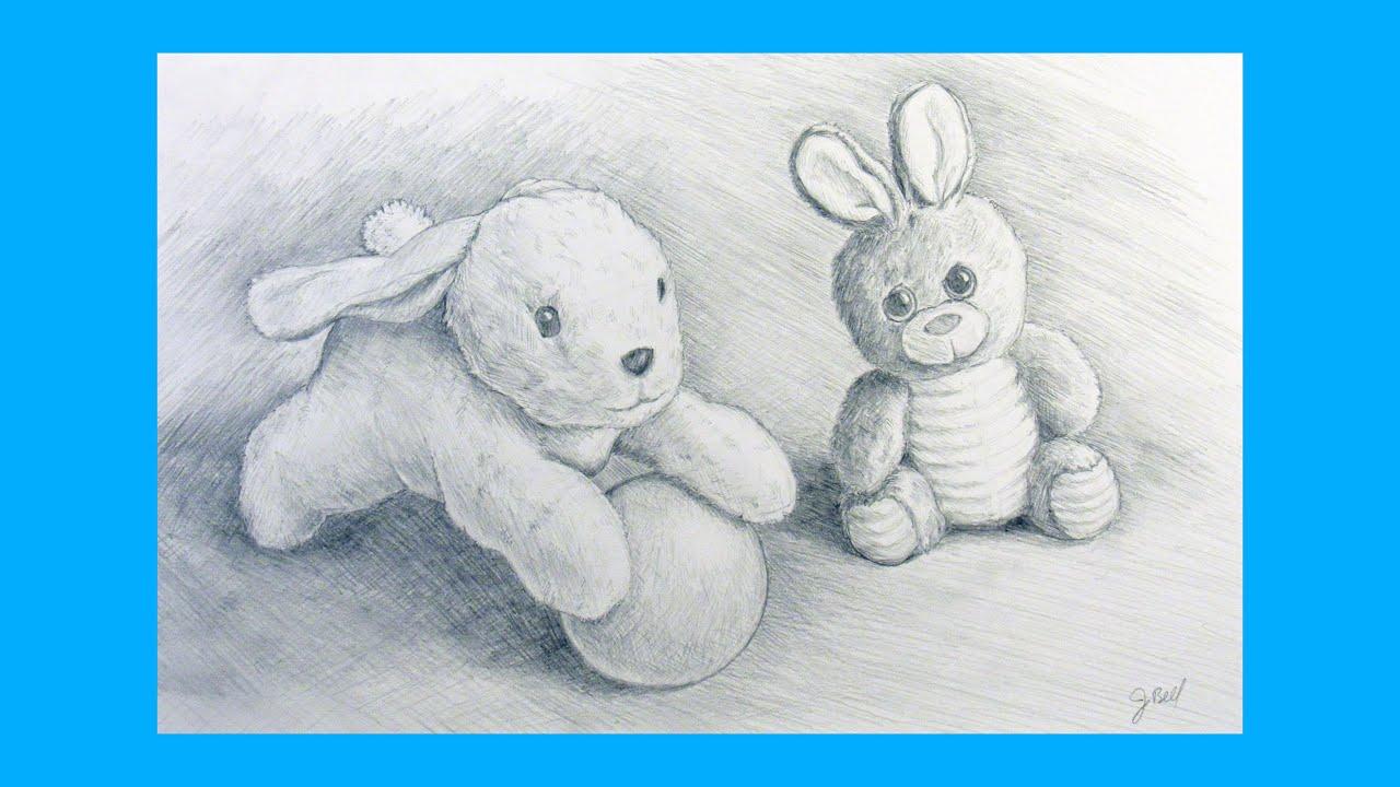 Brittany Stuffed Animal, Drawing Stuffed Animals Youtube