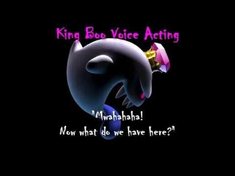 Old Luigi S Mansion Dark Moon King Boo Voice Acting King Boo S Speech