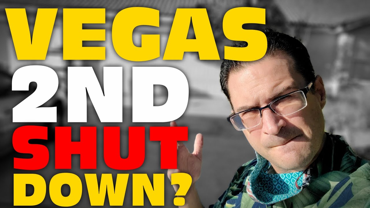 Will Vegas Survive a SECOND COVID Wave? Shutdown AGAIN?
