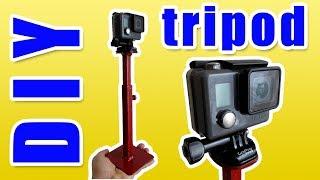 DIY Stand from scrap metall for GoPro, SJCAM tripod