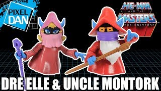 Filmation Dre Elle & Uncle Montork Masters of the Universe Figures Video Review