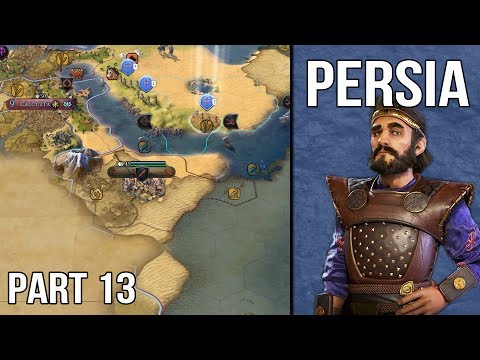 Let's Play Civilization 6 Persia Gameplay (1440p) - Part 13: The Kabul Scheme