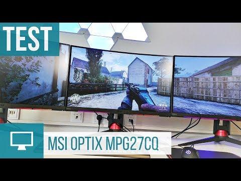 MSI Optix MPG27CQ Test zum 144-Hz-Monitor mit SteelSeries GameSense
