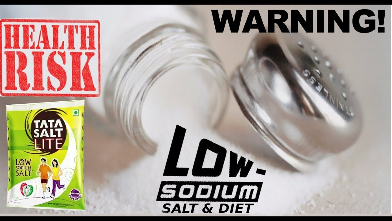 Low Sodium Salt Risks Low Sodium Diet Benefits For Bp Heart Kidney Failure Eng Dr Education Youtube
