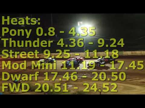 Heats @ Wartburg Speedway (9-8-18)