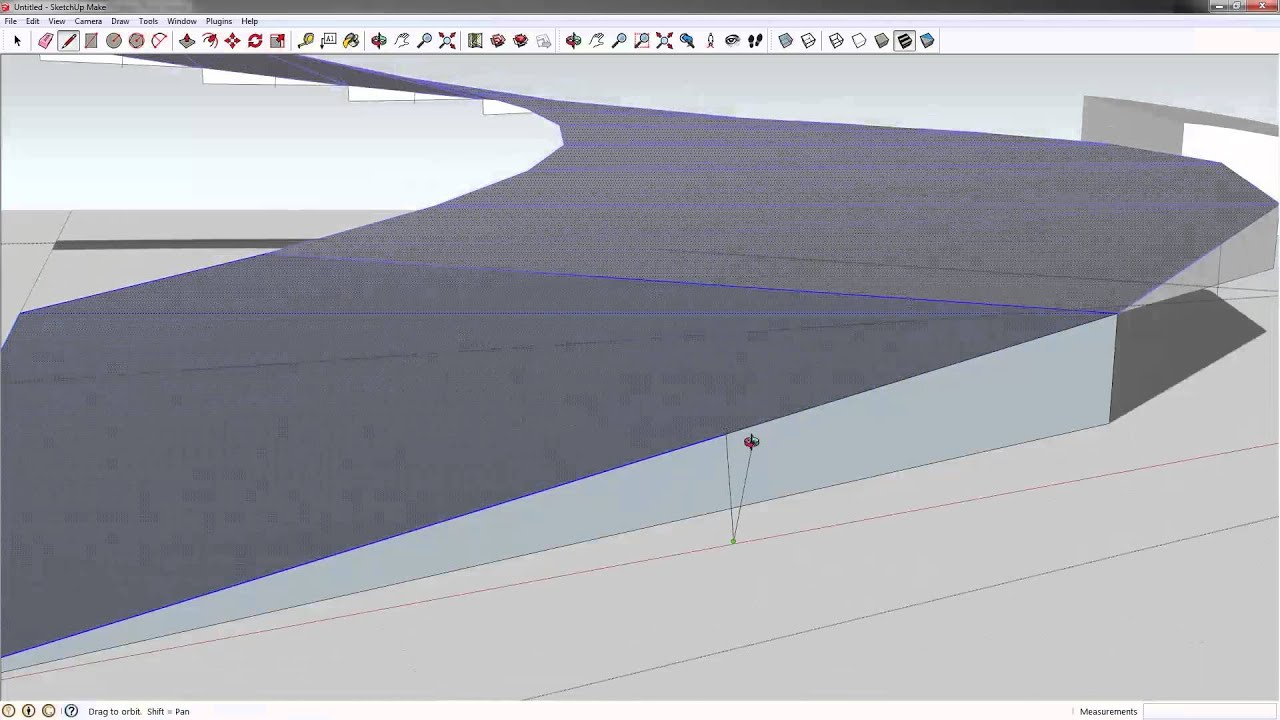 Mleearc Tutblog Modeling A Curved Ramp In Sketchup Youtube