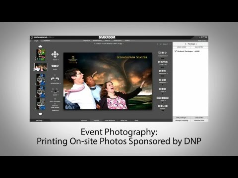 Event Photography: Printing On site