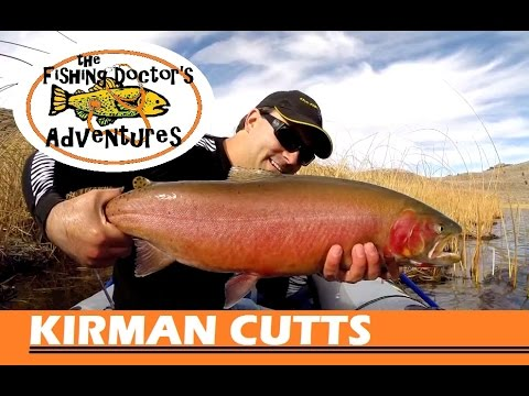 How to Fishing: Lahontan Cutthroat Trout Kirman Lake Inflatable Sevylor Boat