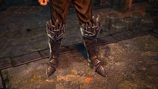 Path of Exile: Pyre Knight Boots