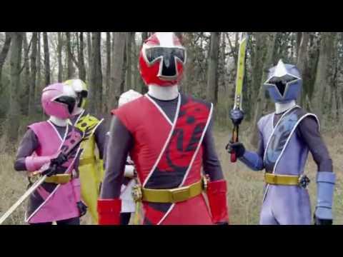 Могучие рейнджеры ниндзя сталь первая битва мегазорда
