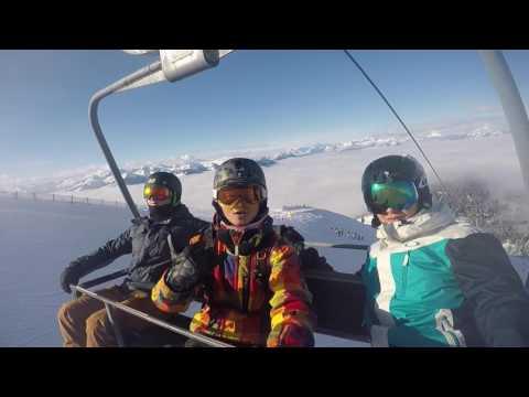 Contiki Ski Austria Plus Day 4 - Powder lines and park session