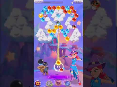Bubble Witch 3 Saga Level 535 (First Look 👀) Boosters