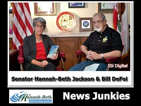 News Junkies Host: Bill DeFoi & Guest: Senator Hannah Beth Jackson -  S5i Digital