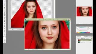 Замена заднего фона в Adobe Photoshop CS3