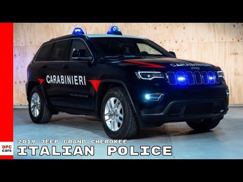2019 Jeep Grand Cherokee Italian Police Car