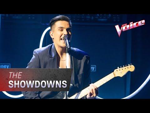 The Showdowns: Jesse Teinaki Sings 'Make It Rain' | The Voice Australia 2020