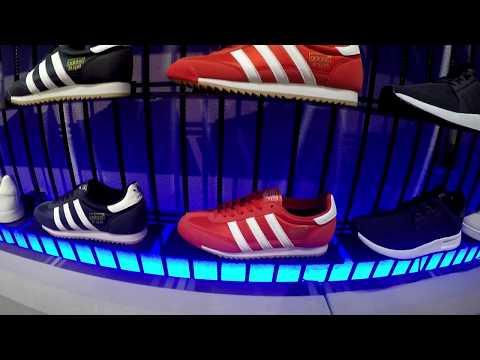 New Adidas Originals store at Doha Festival City in Qatar