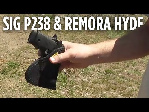 Sig Sauer P238 In A Remora Hyde Holster