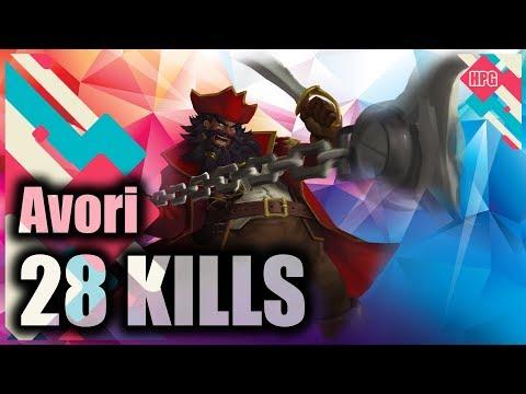 HoN Pro Devourer Gameplay - Avori - Diamond II - CM