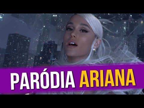 Ariana Grande - No Tears Left To Cry (Paródia/Redublagem)