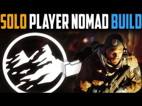 The Division  My Solo Player Nomad Build  Patch 18
