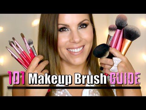 makeup 101  makeup brush guide for beginners  youtube