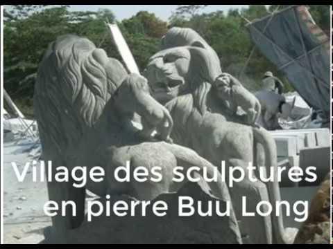 Le village des sculptures Buu Long au Vietnam /Je parle francais