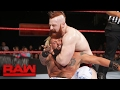 Enzo Amore & Big Cass vs. Cesaro & Sheamus - No.1 Contenders' Match: Raw, Feb. 20, 2017