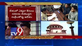 SC freezes cases against Priya Varrier - TV9 Now