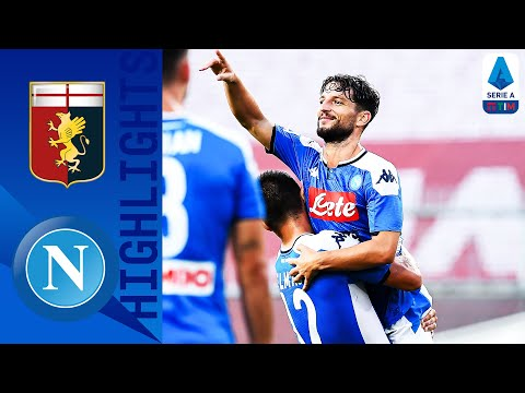 Genoa 1-2 Napoli | Mertens and Lozano Seal Narrow Victory for Napoli | Serie A TIM