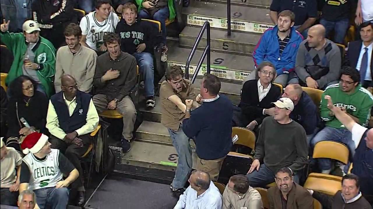 Jeremy Fry, fan des Celtics a une joie communicative