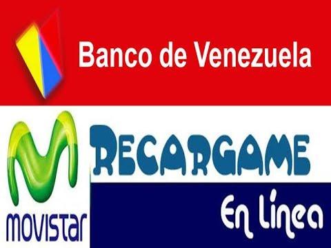 banco de venezuela como realizar recarga movistar por On banco de venezuela clavenet personal