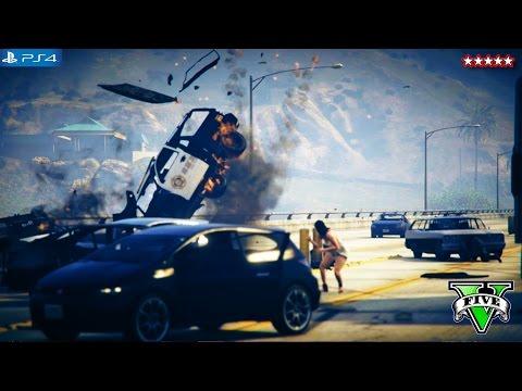 GTA 5 Next Gen: ATTACKING THE MILITARY BASE!!! - GTA V Funny Moments