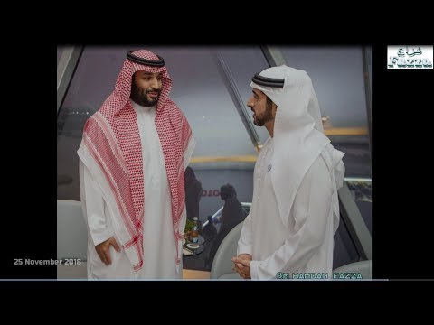 Mohammed bin Rashid meets Saudi Arabia's Crown Prince Mohammed bin Salman