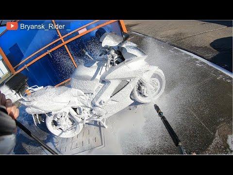 МотоБудни trip #2 Чистка цепи и мойка мотоцикла Honda VFR 800