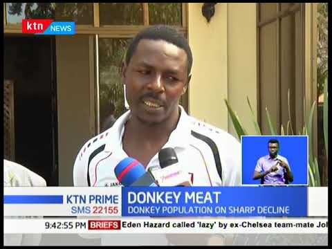 Donkey farmers up in arms in Nakuru over license to slaughter donkeys