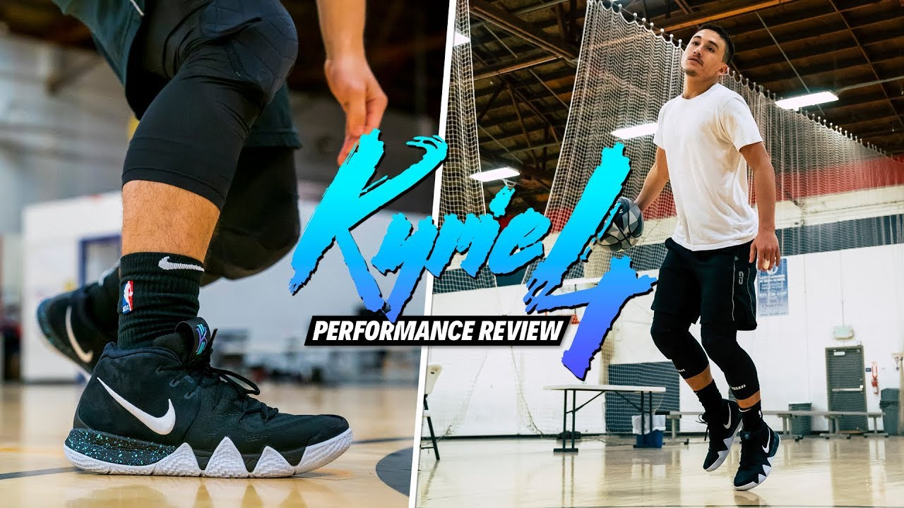 1b5faf97e950 Nike Kyrie 4 PERFORMANCE REVIEW TEST - YouTube