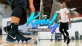 Nike Kyrie 4 PERFORMANCE REVIEW/TEST