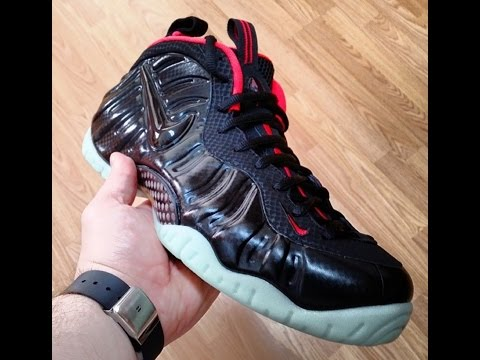 079e9357489a Nike Foamposite Pro Prm  SPIDER-MAN  Review   On-Feet
