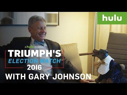 Triumph Meets Libertarian Candidate Gary Johnson • Triumph on Hulu