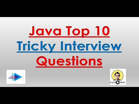JAVA TRICKY INTERVIEW QUESTIONS