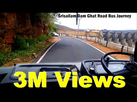 TSRTC SUPER LUXURY towards SRISAILAM from HYDERABAD. PART-4 Video