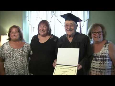 News Update Decorated World War 2 veteran, 97, graduates from high school 18/07/17