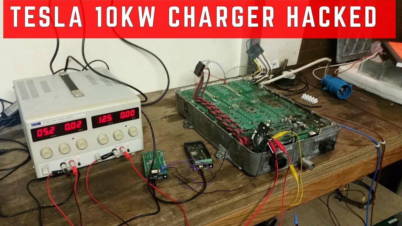 Tesla onboard charger