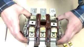 разборка - сборка магнитного пускателя ПМА 6-202